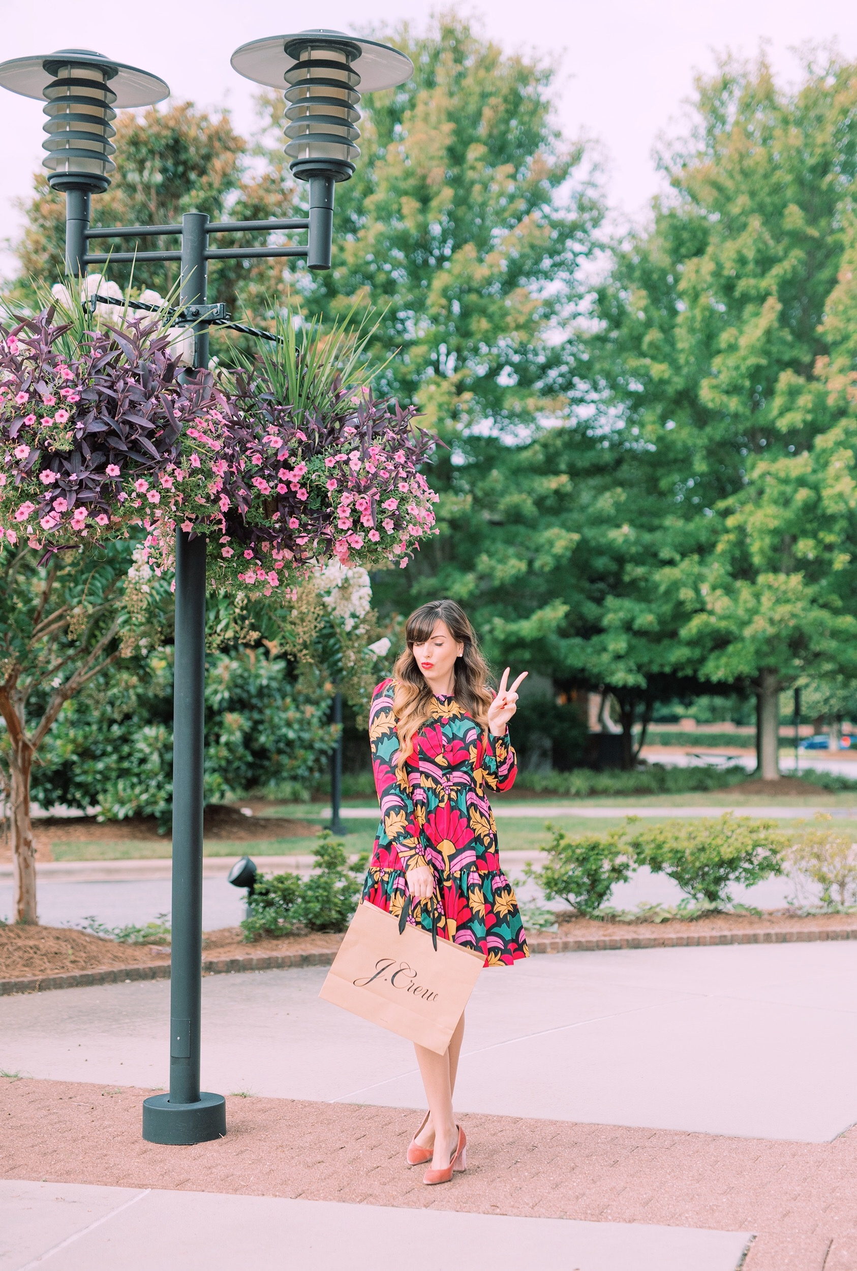 jcrew retro floral dress.JPG