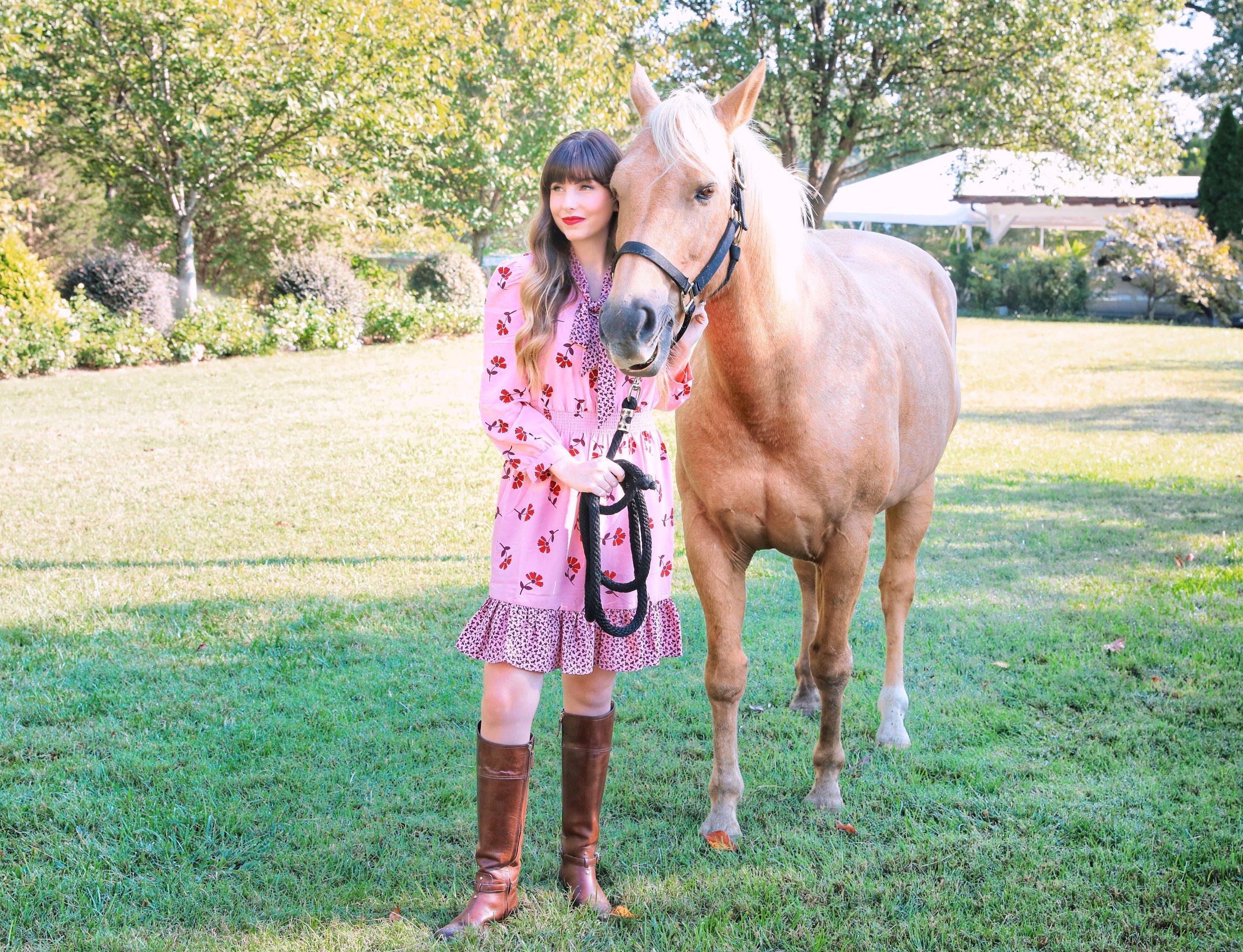 Draper James Equestrian Dress.JPG