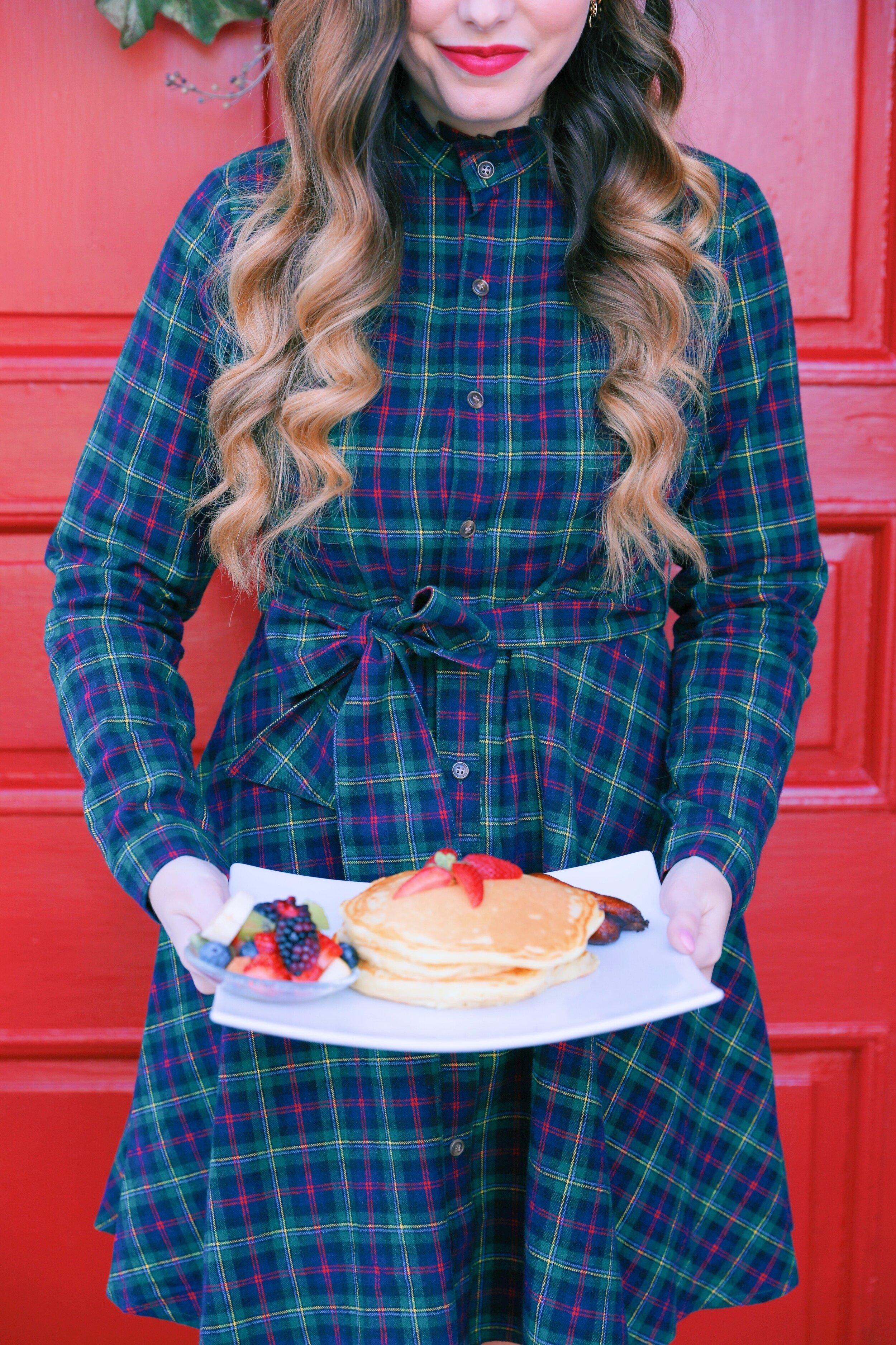 four chimneys inn bed and breakfast pancakes.JPG