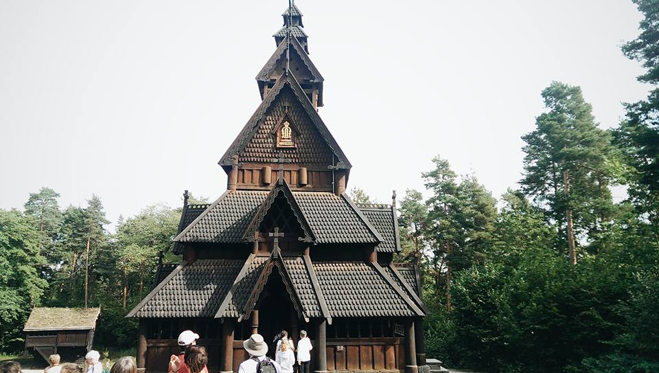 Gol Stave Church at the Norwegian Museum of Cultural History