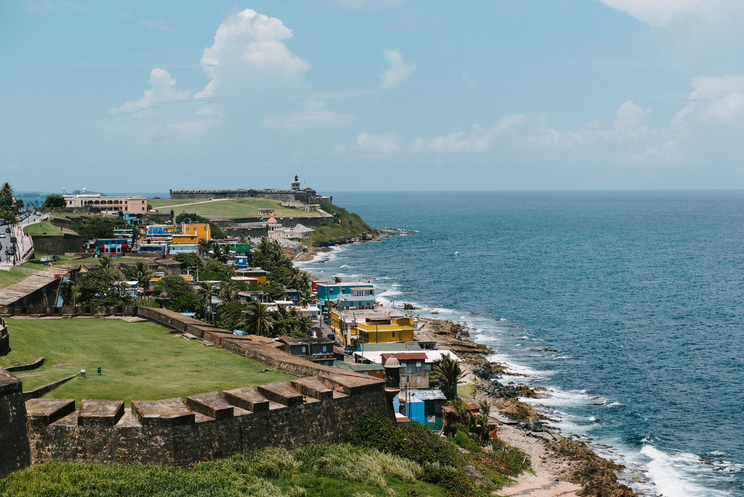 View of Old San Juan, Puerto Rico