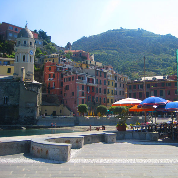 The colourful buildings of the Cinque Terre