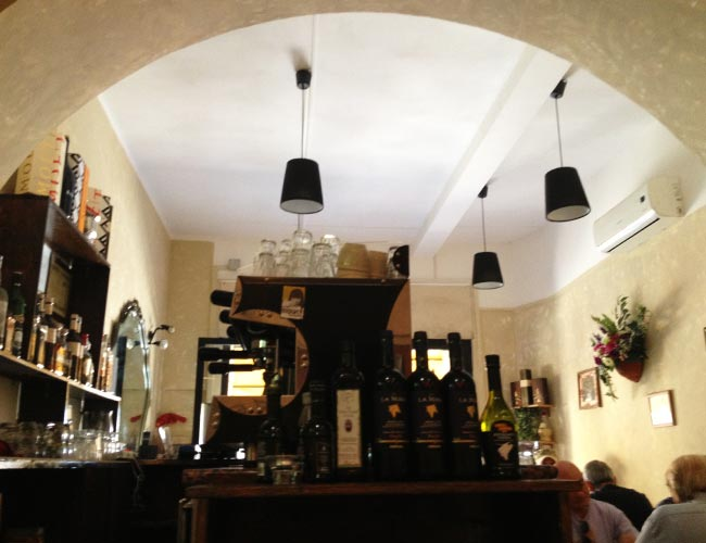 Restaurant in Lake Bracciano
