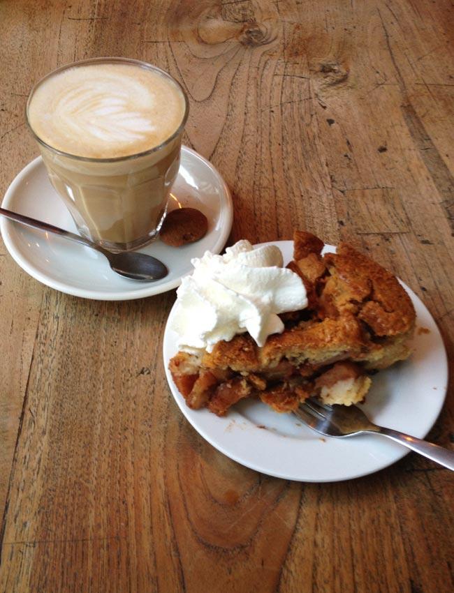 Apple pie in Amsterdam