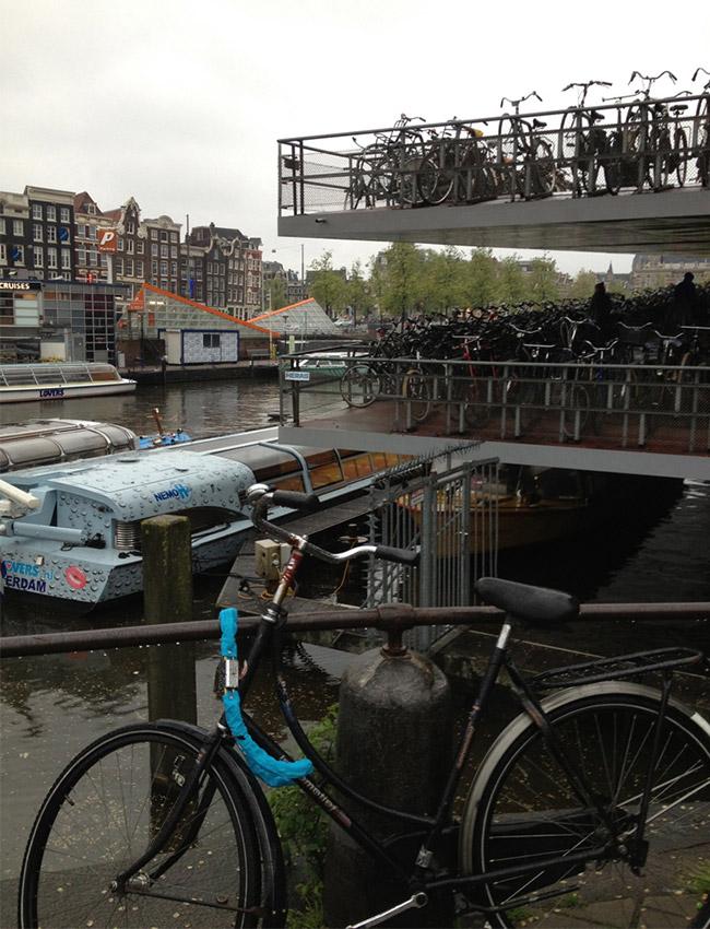 Bike Last Seen Chained to Bridge