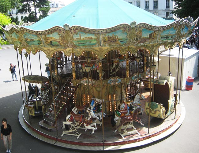 Merry-go-round, Paris