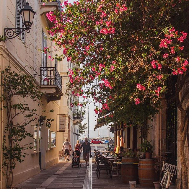 ✨New Blog: Nafplio, Greece✨  Love at first sight 💕  When I first arrived in Nafplio, I was perplexed. Wrought iron balconies, colourful shutters and blushing bougainvillea climbing the walls had me thinking I was in small town Italy.  Small town Italy, where I could also enjoy the most delicious moussaka with a €2 glass of wine and a view of a 15th century Venetian island fortress.  I was planning my return before my holiday had even properly begun. See more on the blog! #nafplio #greece