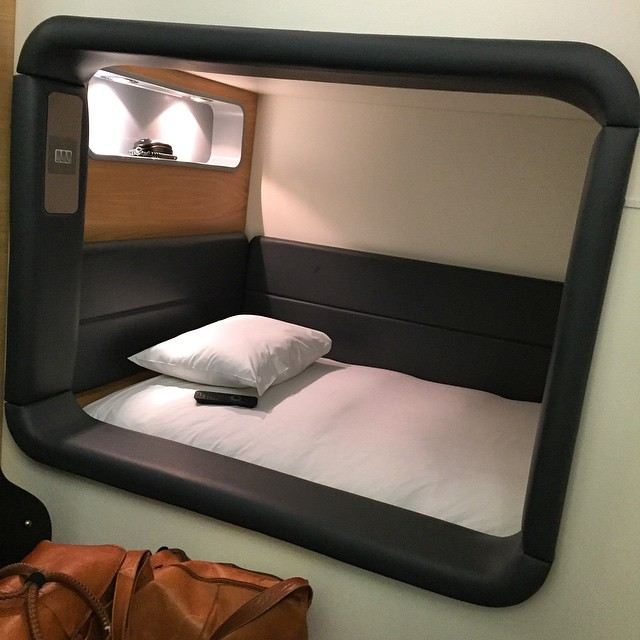 Now for 5 hrs kip in the Heathrow Yotel #PodHotel. #WoodFestival later today.  http://ift.tt/1FpT46X