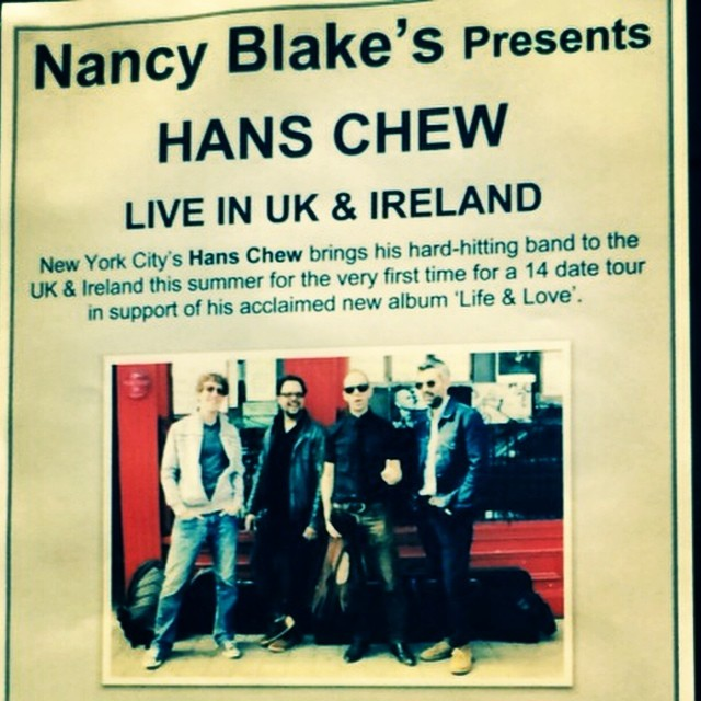 Live in Limerick. Nancy Blake's, 7pm til we run outta gas gas gas.  http://ift.tt/1onWnAR