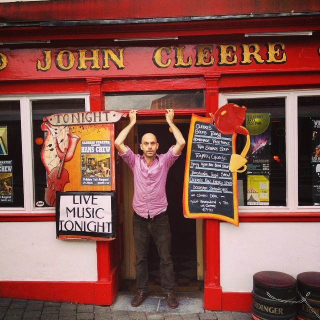 Oh so good to be back @CleeresKilkenny Music starts at 9pm.  http://ift.tt/1xLXnjp