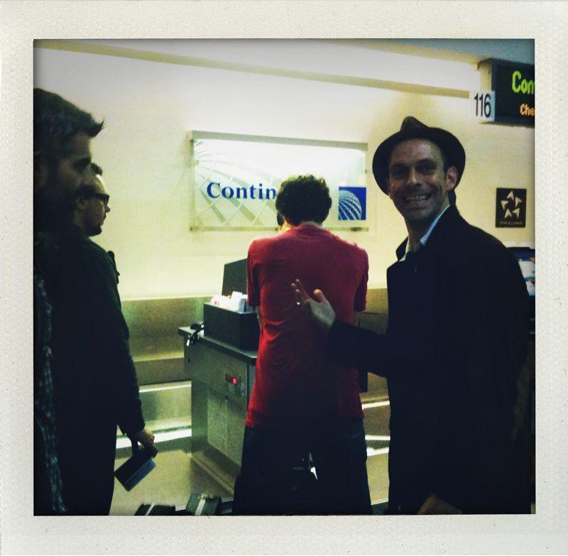 Ready to board gov!  When does in-flight food service begin ma'am?