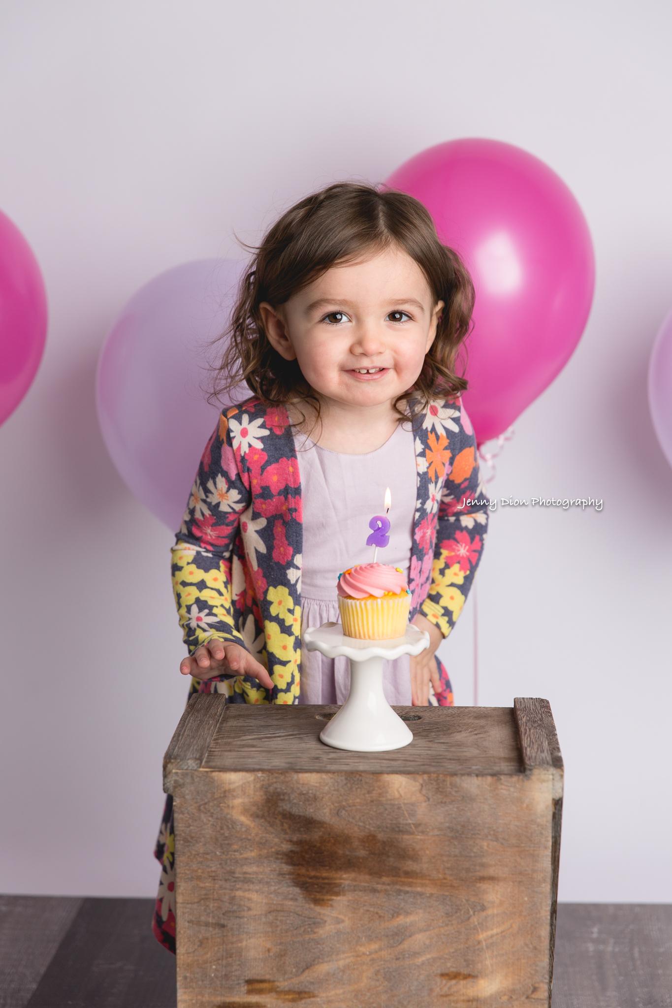 Singing happy birthday to her!