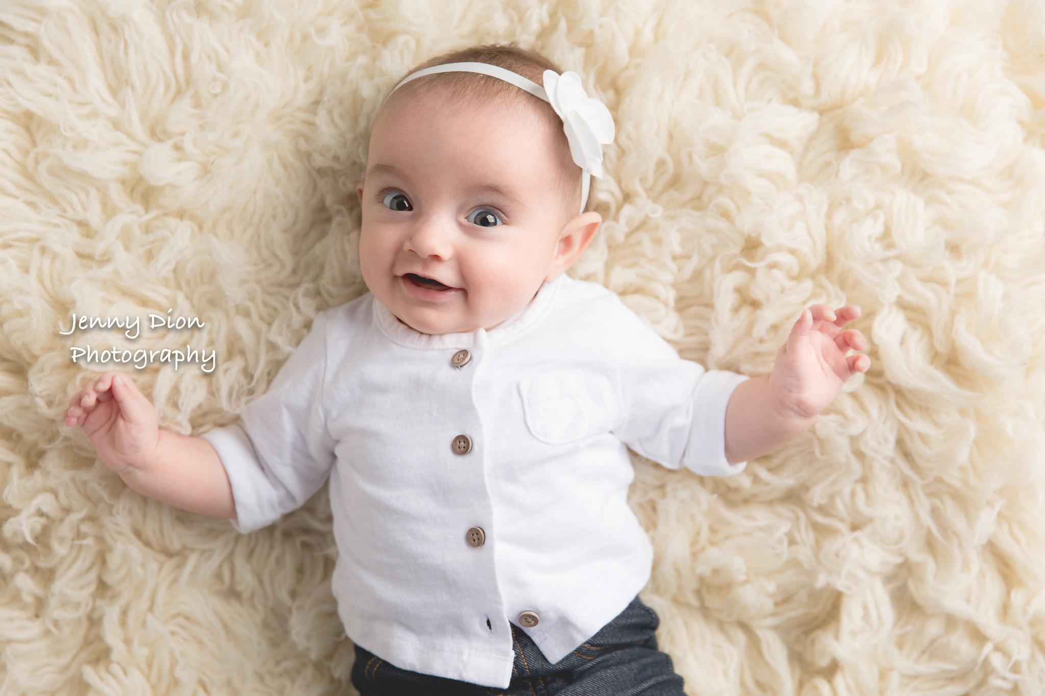 Happiest baby I've ever seen!