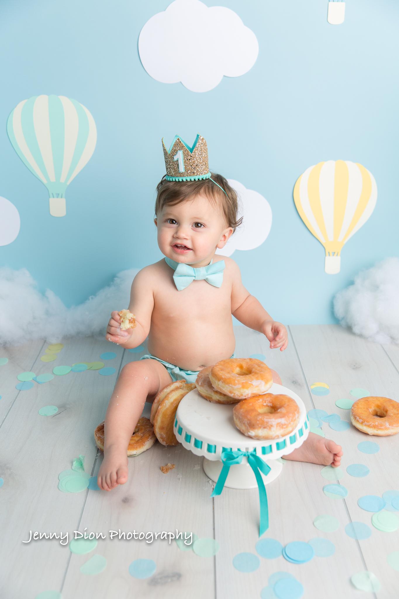Hot Air Balloon Donut Smash!
