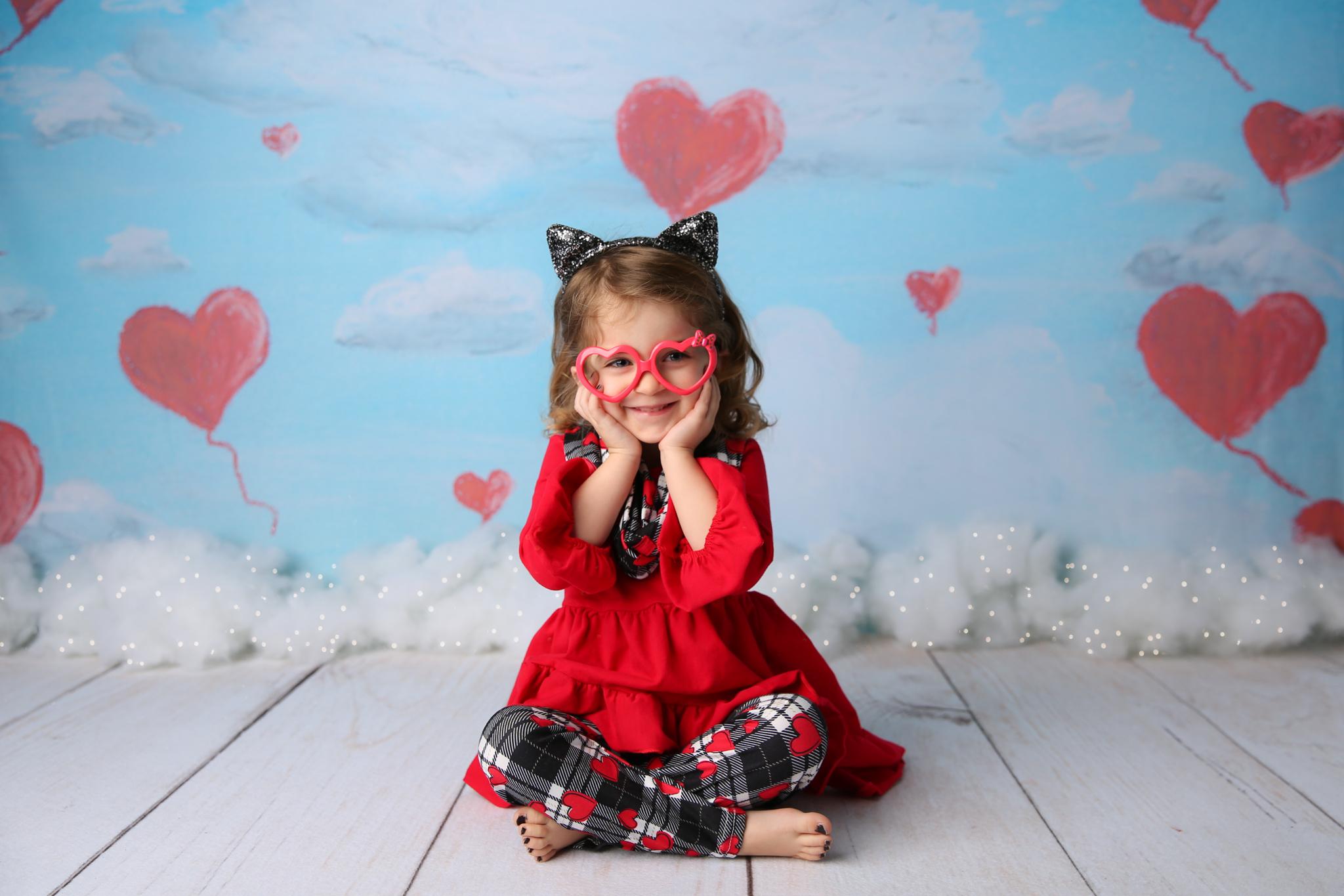 Valentine's Day RI children photographer