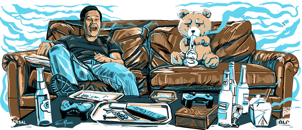 Alamo Drafthouse - Ted 2 Pint Glass