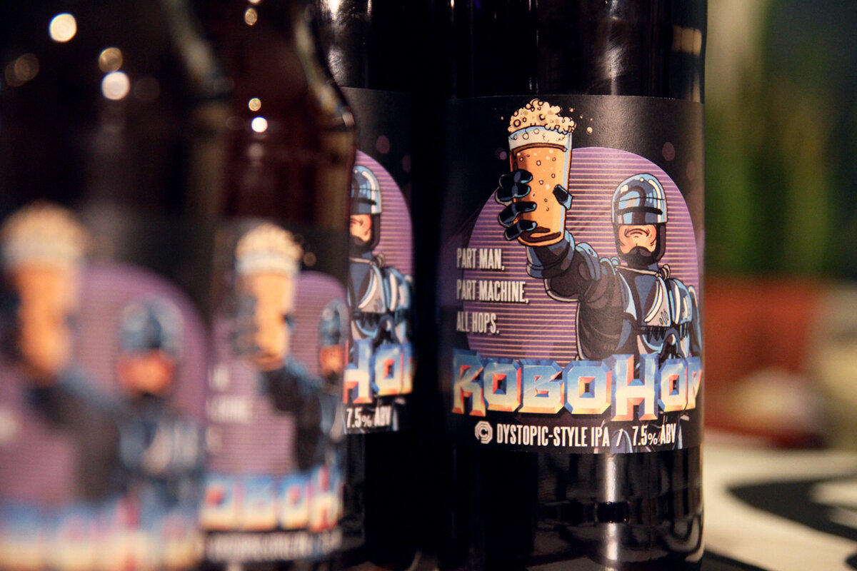 RoboHop - Beer Label