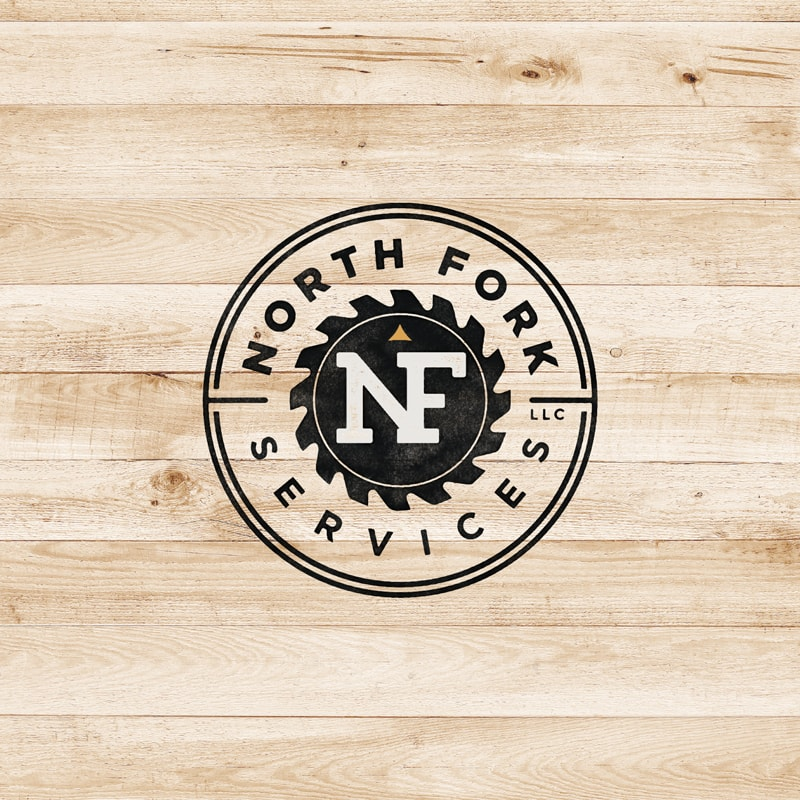 North Fork Services Logo Design