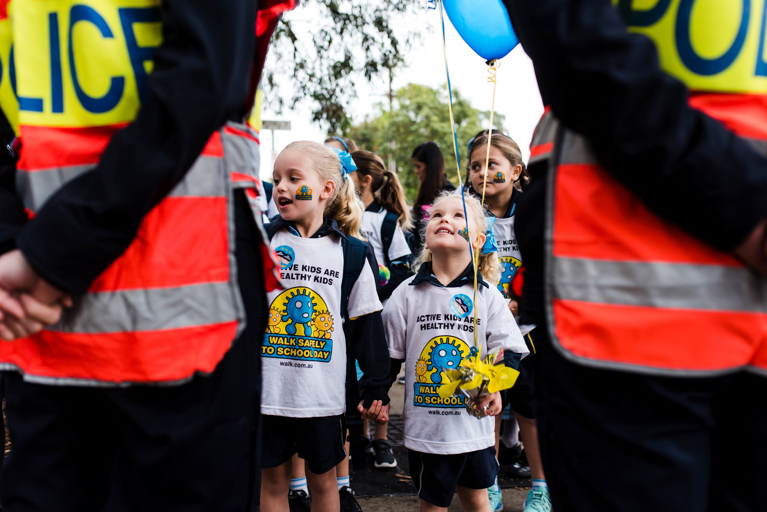 Walk Safely to School Day 2017