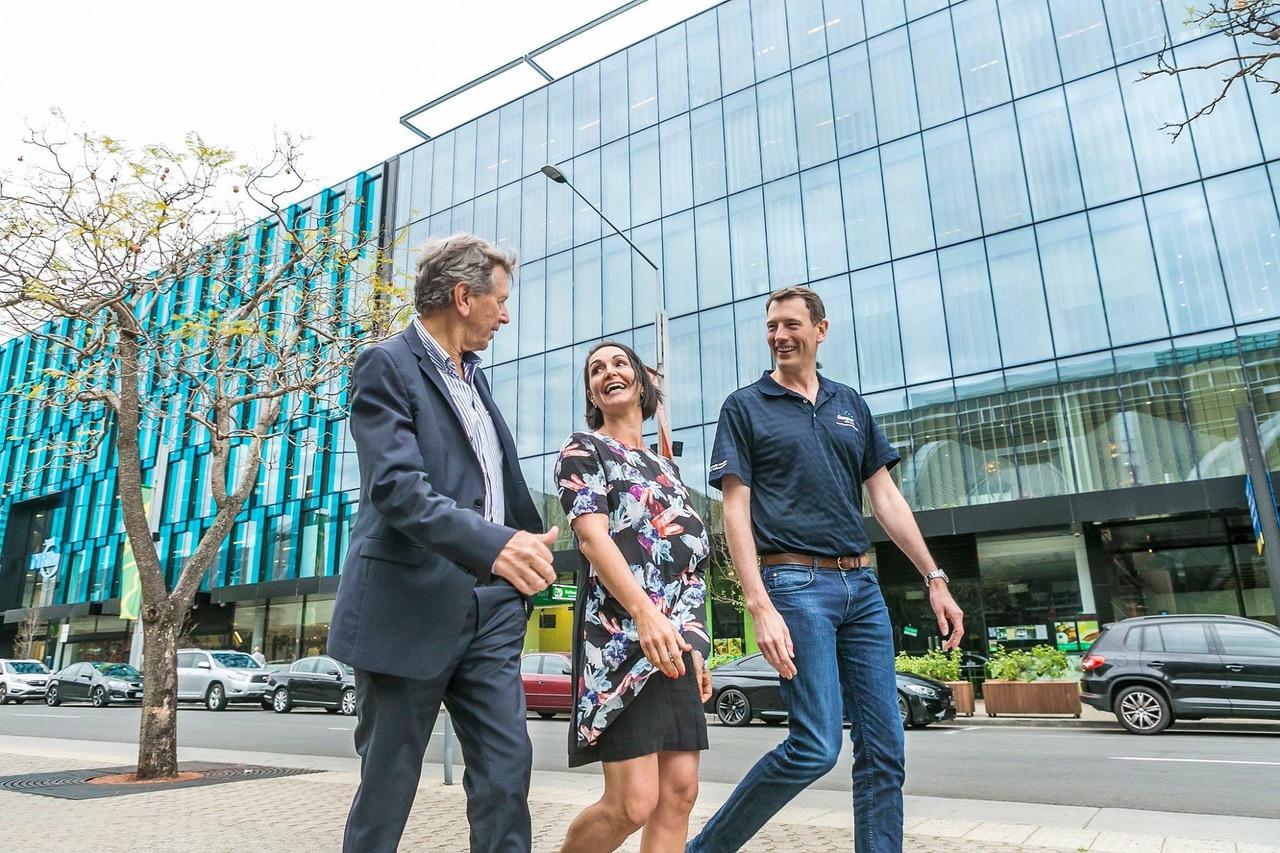 The annual Diabetes Australia Walk to Work Day