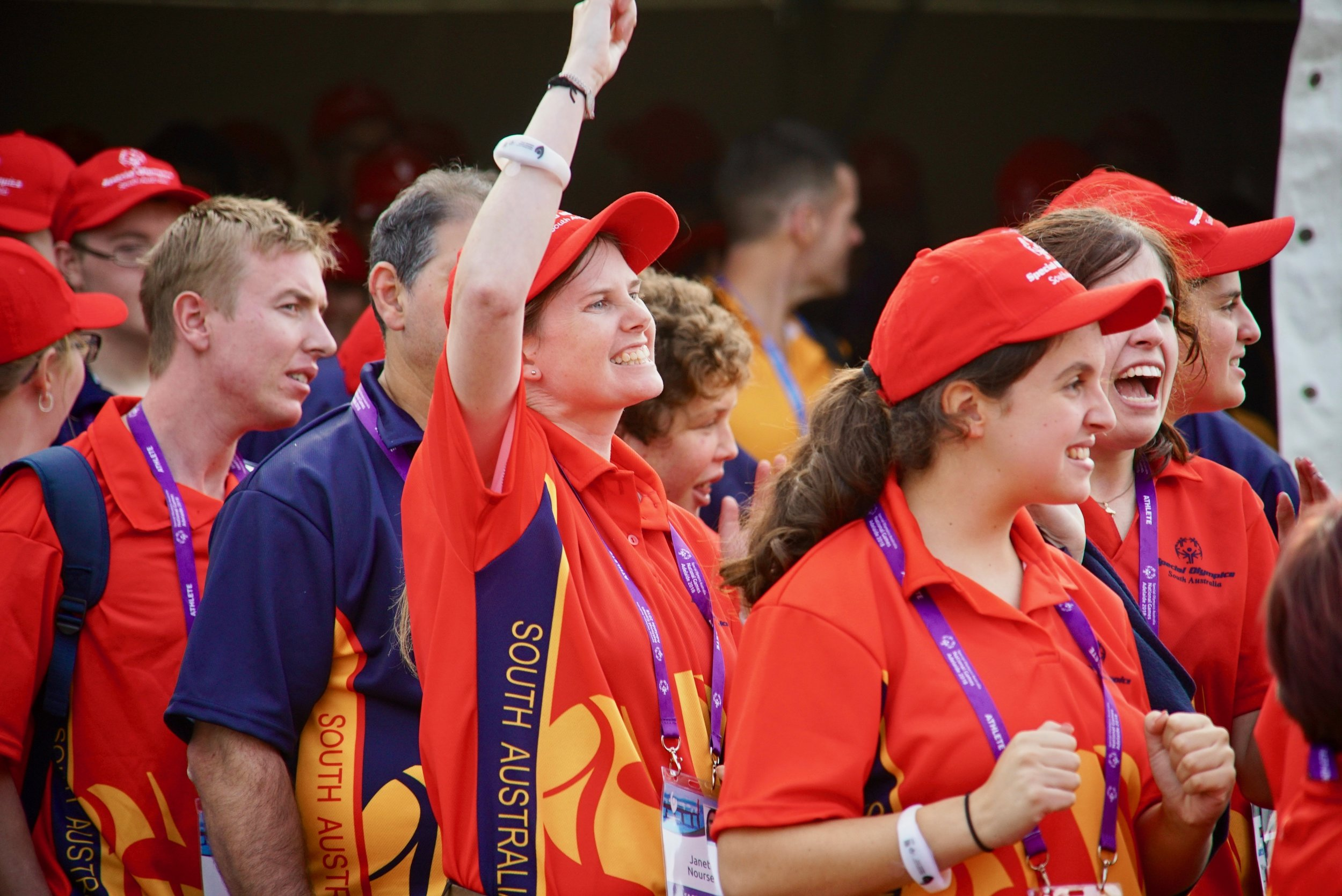 2018 Special Olympics National Games Opening Ceremony