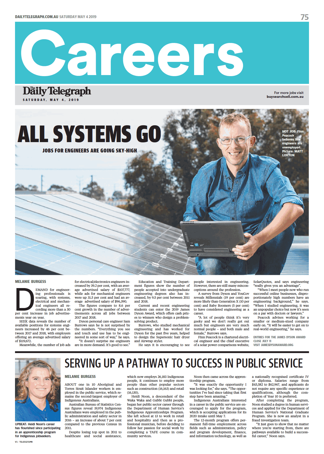 SolarQuotes - The Daily Telegraph (Careers Cover).png
