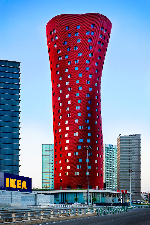 Porta Fira Hotel    Toyo Ito   Barcelona