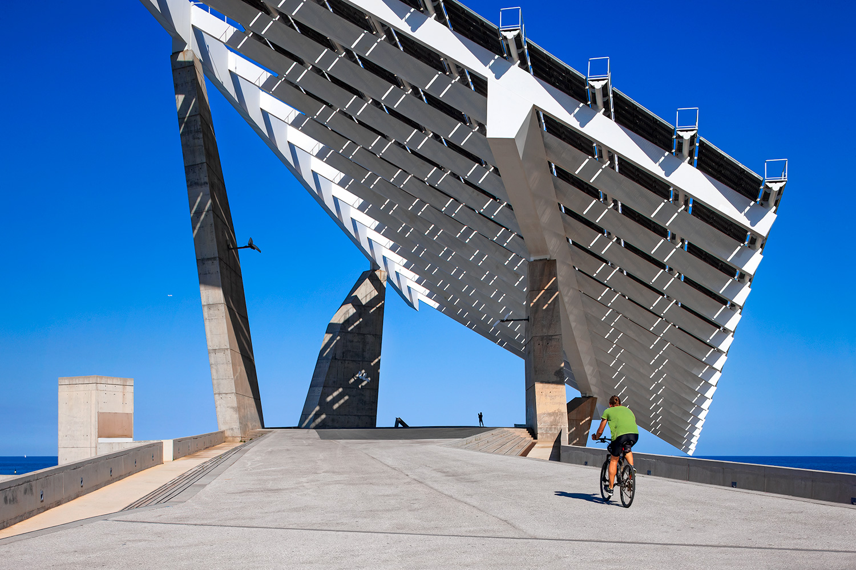 Fòrum Photovoltaic Panel  | Elías Torres | Barcelona