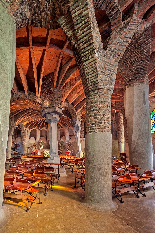 Cripta Gaudí  | Antoni Gaudí | Sta. Coloma de Cervelló, Barcelona