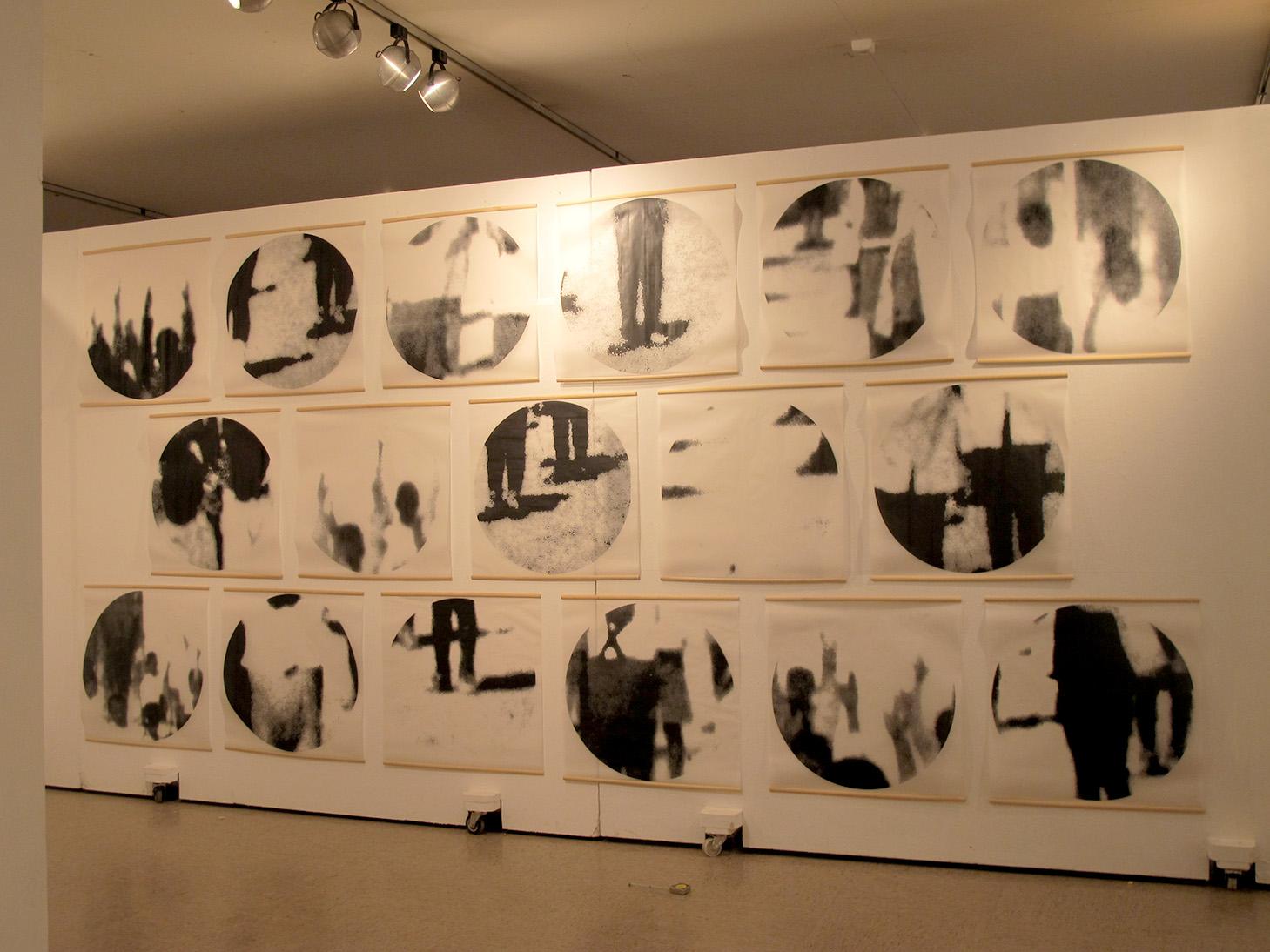 Exposición Fin de Máster-Sala de exposiciones La Trasera (UCM).