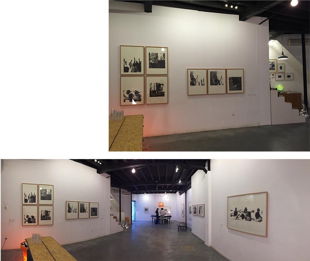 Exposición en la Galería Sánchez de Lamadrid, Sevilla