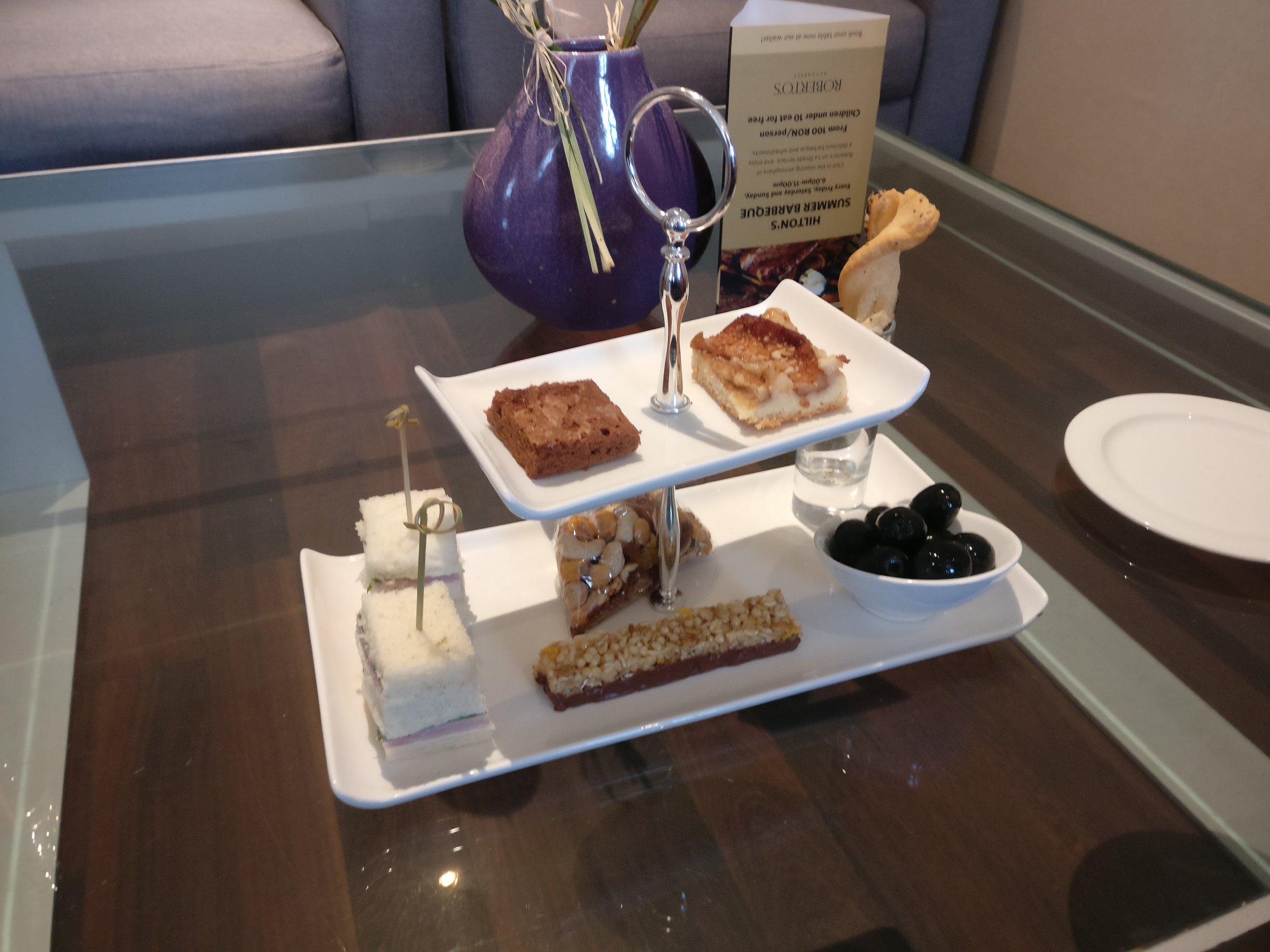 Afternoon Tea - Athenee Palace Hotel