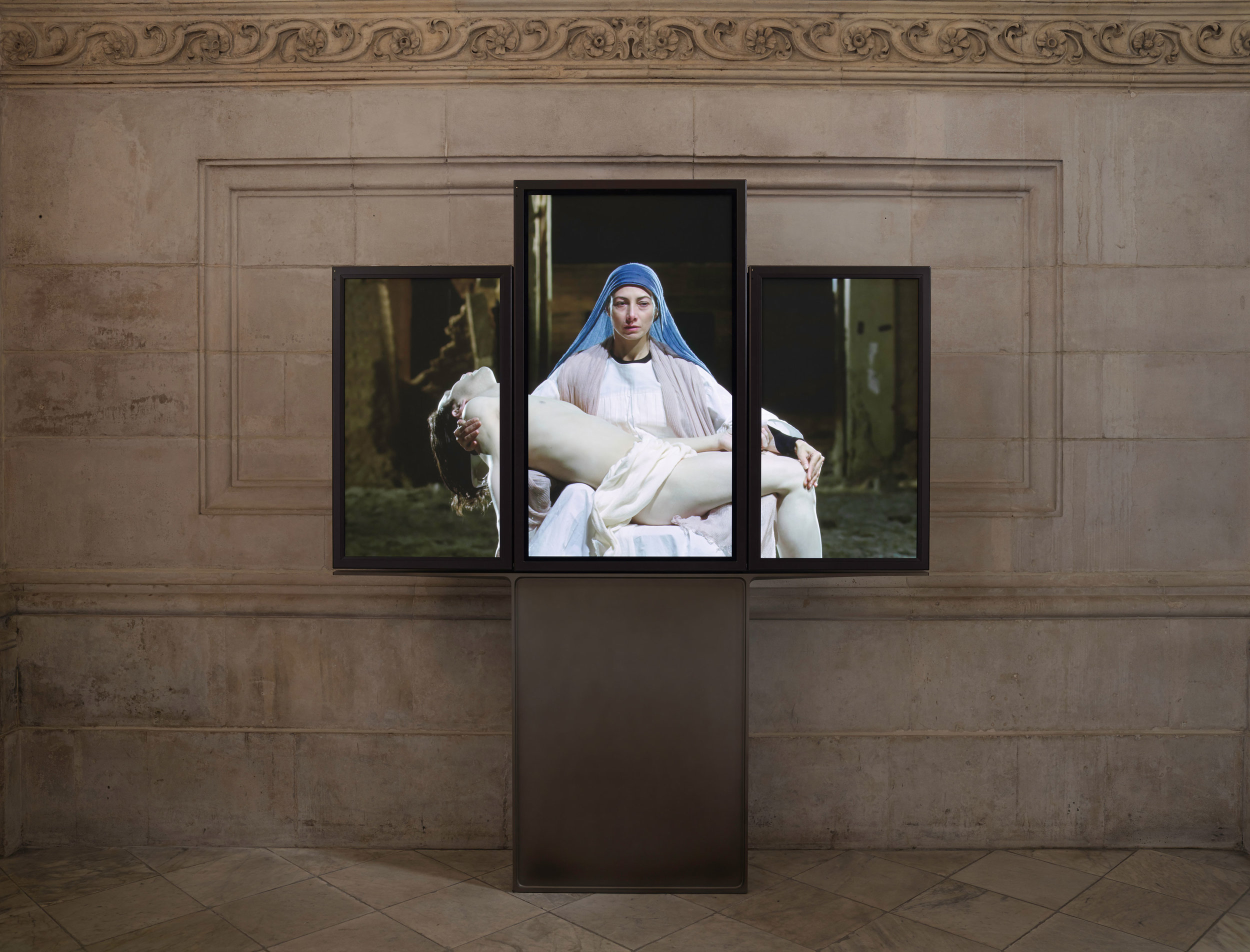Bill Viola,  Mary , 2016. Photograph:  Peter Mallet