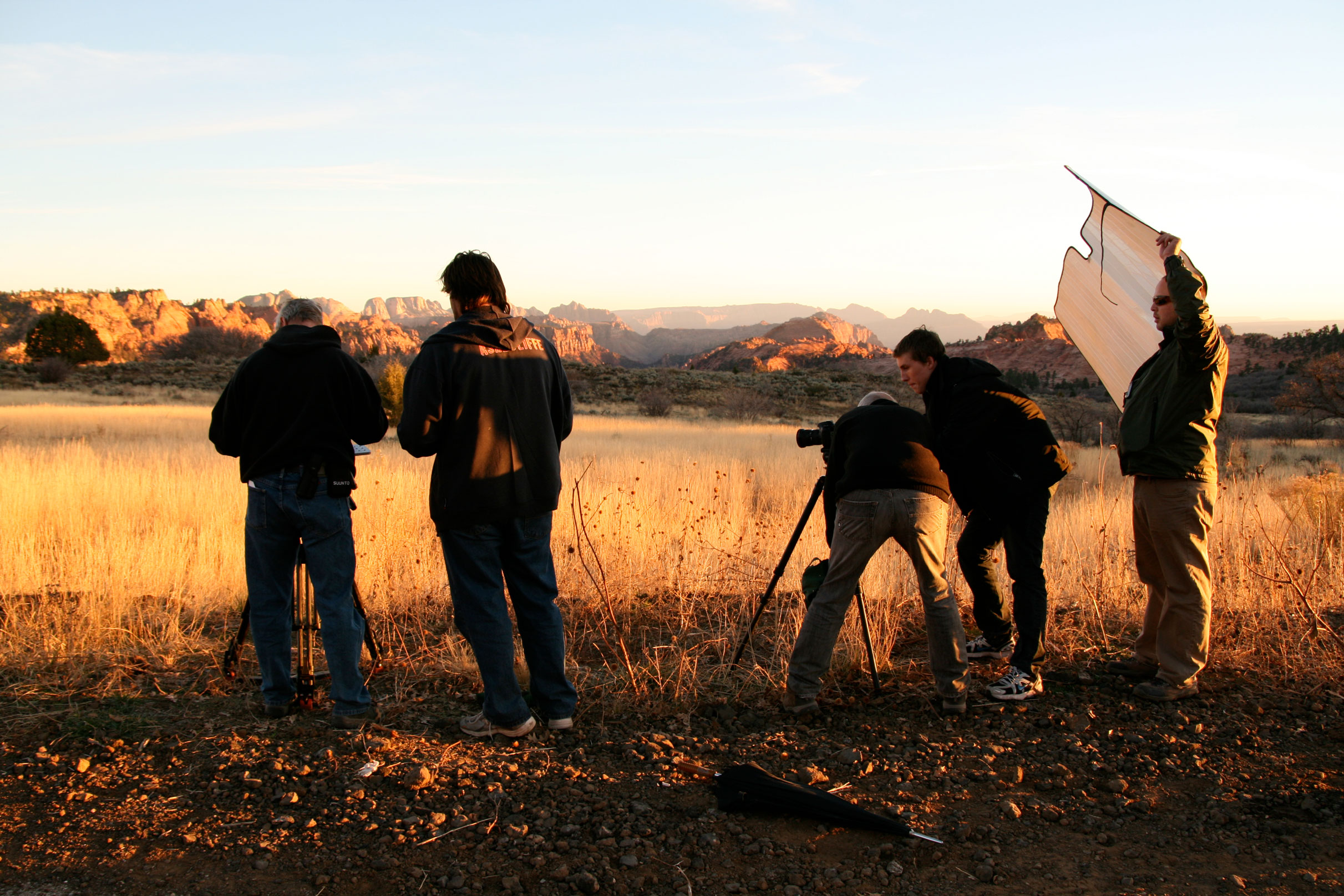 Production of  Mary  in Utah.
