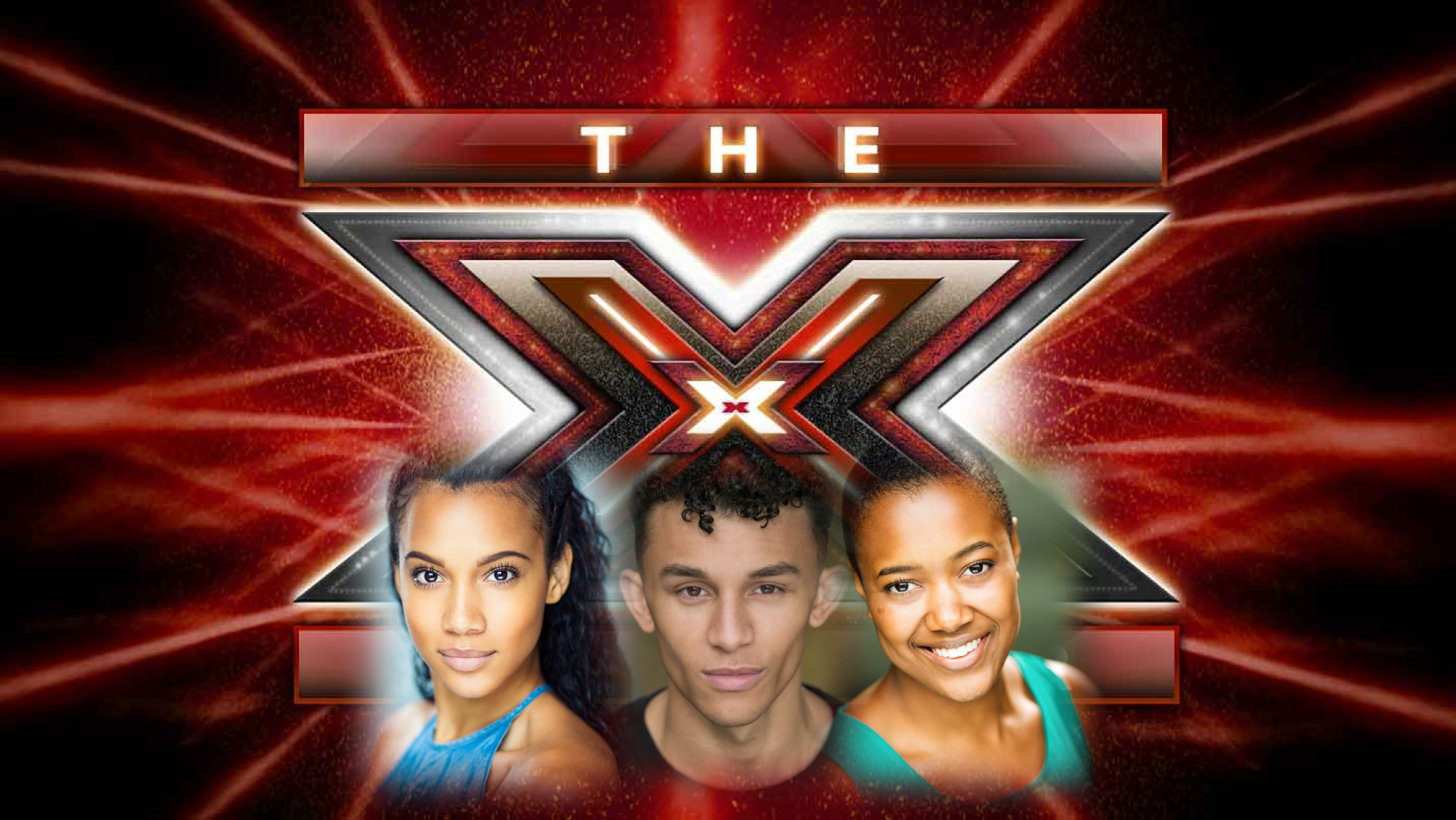 Elander Moore, Sanchia Clarke and Gleanne Purcell-Brown appear as Backing Vocalists at the Judge's Houses for X Factor