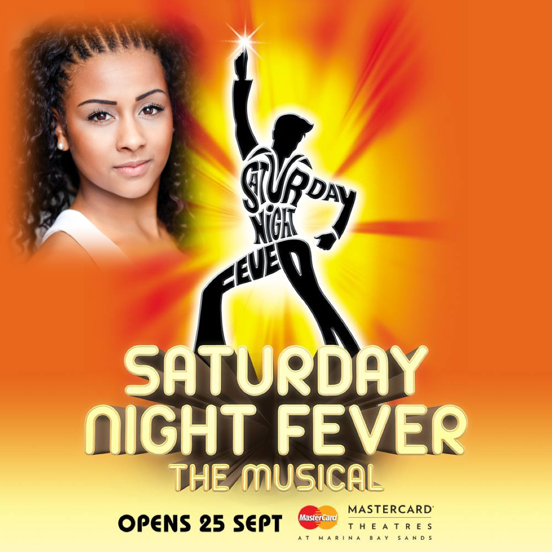 Discoing round the UK Alishia Marie Blake performs in Saturday Night Fever