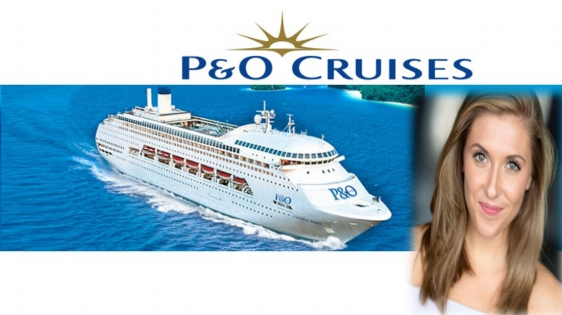 LINK Pro Paige Ellen sparkles on the seas as Lead Vocalist on P and O Ventura