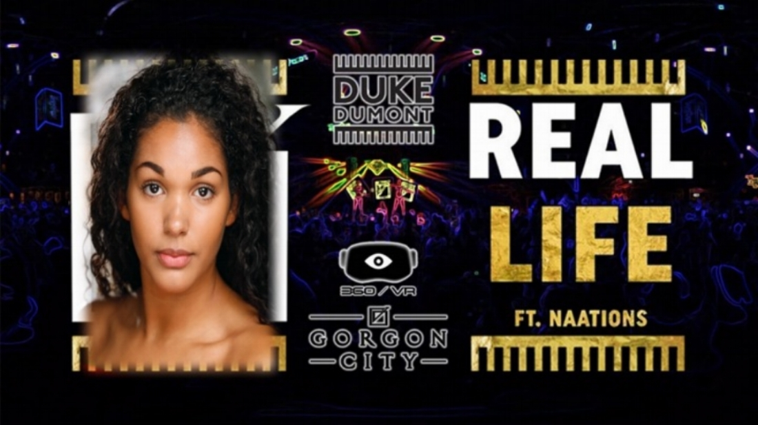 Elena Forrest shoots for Real Life featuring Gorgon City - Duke Dumont