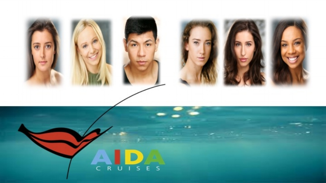 Charlotte Goodenough, Sophie Cameron, Jefferson Chanatasig, Lucia Rose, Mia Yuill and Erin Bristwhistle dance for Aida Crusies