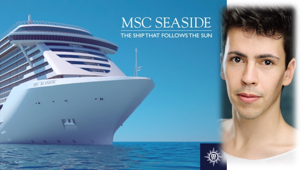 LINK Urdang gradaute Ivan Presson is following the sun as Singer onboard the MSC cruise ship MSC Seaside.