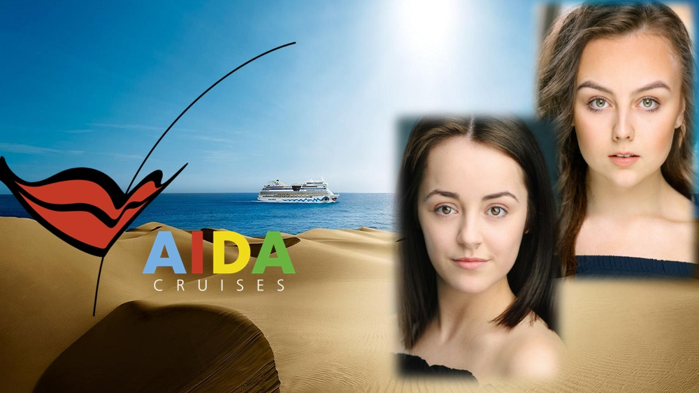 LINK Urdang graduates Molly-Marie Matthews and Levi Storm Wilby have now started aboard Aida Cruise ship Aida Stella as Dancers.