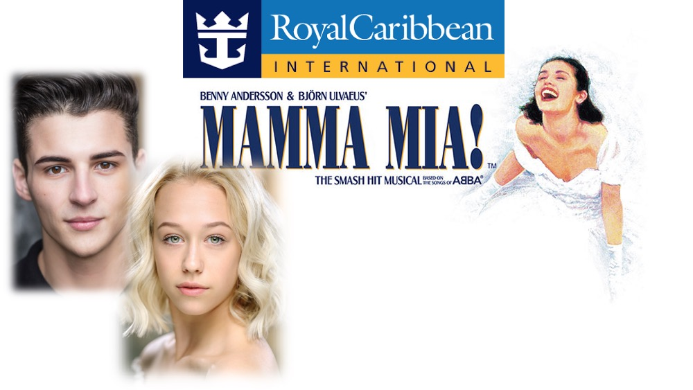 LINK PRO client Joseph Roberts and LINK Urdang graduate Anina Pletscher are now starring aboard Royal Caribbean cruise ship Allure of the Seas's production of Mamma Mia. Joseph is appearing as Ensemble and Anina is appearing as Ali / Ensemble.