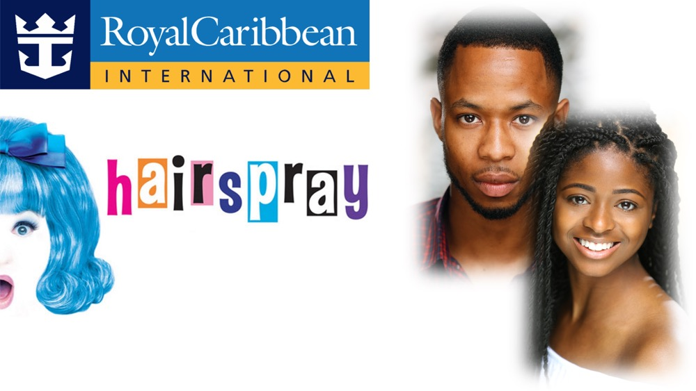 LINK PRO client Winny Herbert and LINK Urdang graduate Kalisha Johnson are now appearing in Hairspray aboard Royal Caribbean cruise ship Symphony of the Seas. Winny appears as Ensemble/Understudy Seaweed and Kalisha appears as Ensemble.