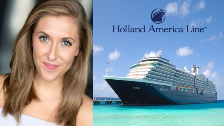LINK PRO client Paige Ellen is now aboard Holland-America's cruise ship MS Zaandam  as Lead Vocalist.