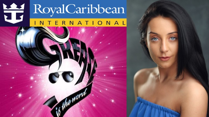 LINK Urdang graduate Neave Welch is now appearing as Cha Cha in Royal Caribbean Cruise ship Harmony of The Sea's production of Grease.