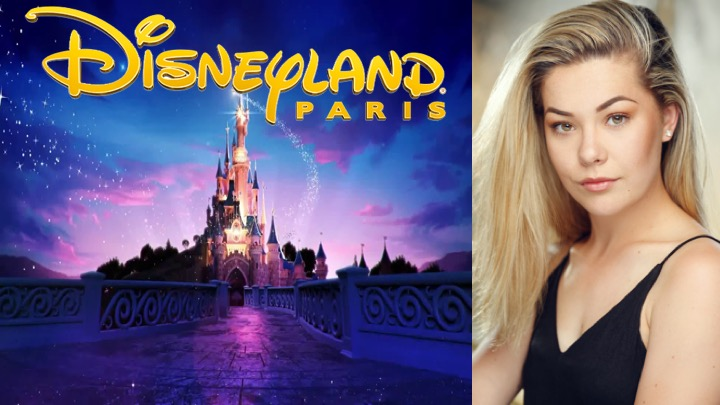 LINK Urdang graduate Chelsea Kester is now appearing as Parade and Character Performer in Disneyland Paris.