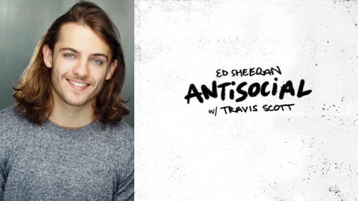 "LINK Urdang graduate Ryan North features as a ""Trailer Guy"" in Ed Sheeran and Travis Scott's official 'Antisocial' music video."