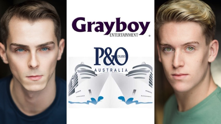LINK PRO clients Gregory Reid and Oliver Hacker are now aboard P and O Australia with Grayboy Entertainment. Geogory Reid appears as Singer and Dancer and Oliver Hacker as Cast Manager.