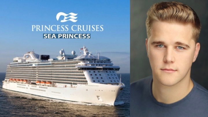 LINK Urdang graduate Ryan Webb is now aboard Princess Cruises ship Sea Princess and appears as Dancer.