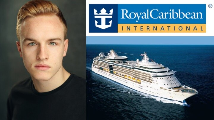 LINK Urdang graduate Dennis Cousins appears as Dancer aboard Royal Caribbean Cruise ship Jewel of The Seas.